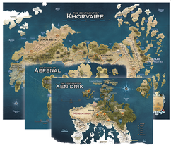 Dungeons & Dragons: Eberron - Rising From the Last War - Khorvaire Map Set