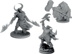 Dungeons & Dragons Miniatures: Collector's Series - Arkhan the Cruel & The Dark Order