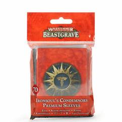 Warhammer Underworlds: Beastgrave - Ironsoul's Condemnors Premium Sleeves