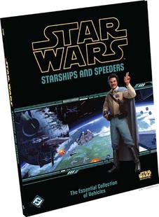 Star Wars RPG: Starships & Speeders (Hardcover)