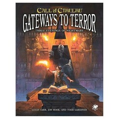 Call of Cthulhu 7th Edition RPG: Gateways to Terror