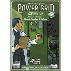 Power Grid: Northern Europe / United Kingdom & Ireland Expansion - Recharged Version