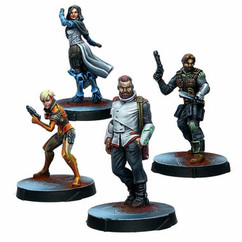 Infinity: Agents of the Human Sphere - RPG Characters Set