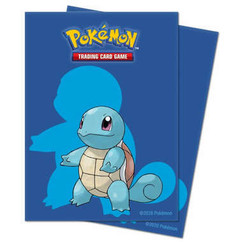 Ultra Pro Sleeves: Pokemon - Squirtle (65ct)
