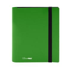 Ultra Pro Binder: 4-Pocket Eclipse - Lime Green
