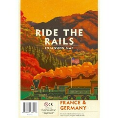 Iron Rail #2: Ride the Rails - France & Germany Expansion