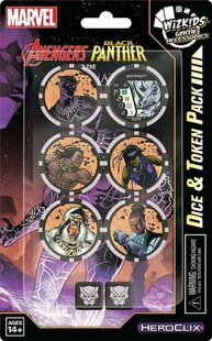 Marvel HeroClix: Avenger Black Panther and the Illuminati Dice & Token Pack