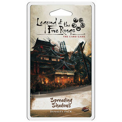 Legend of the Five Rings LCG: Spreading Shadows Dynasty Pack