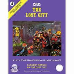 Dungeons & Dragons RPG: Original Adventures Reincarnated #4 - The Lost City