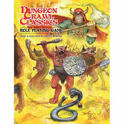 Dungeon Crawl Classics RPG: Core Rulebook - Beastman Edition (Softcover)