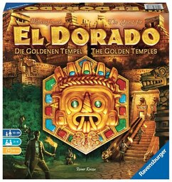 The Quest for El Dorado: The Golden Temples Expansion
