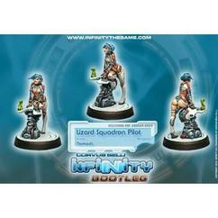 Infinity: Nomads - Bootleg Lizard Squadron Pilot