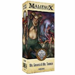 Malifaux 3E: Mr. Graves & Mr. Tannen (Alternate)