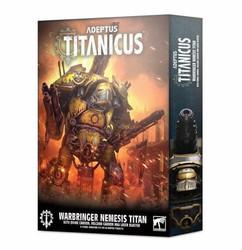 Adeptus Titanicus: Warbringer Nemesis Titan w/ Quake Cannon, Volcano Cannon & Laser Blaster