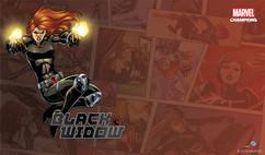 Marvel Champions LCG: Black Widow Game Mat