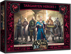 A Song of Ice & Fire Miniatures Game: Targaryen Heroes I (On Sale)