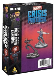 Marvel: Crisis Protocol - Hawkeye & Black Widow Character Pack