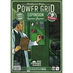 Power Grid: Russia / Japan Expansion - Recharged Version