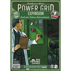 Power Grid: Australia / India Subcontinent Expansion - Recharged Version