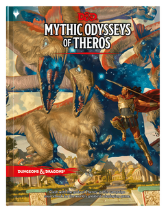 Dungeons & Dragons RPG Fifth Edition: Mythic Odysseys of Theros