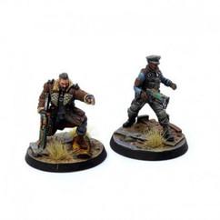 Fallout Wasteland Warfare: Brotherhood of Steel - Elder Maxson & Captain Kells