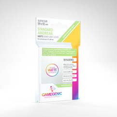 Game Genic Sleeves: Matte Standard American Size (50ct)