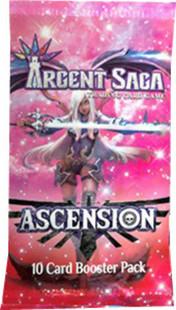 Argent Saga TCG: Set 3 - Ascension Booster Pack