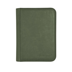 Ultra Pro Binder: Suede Collection - Zippered 4-Pocket (Emerald) (PREORDER)