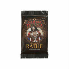 Flesh & Blood TCG: Welcome to Rathe Booster Pack (Unlimited Edition)