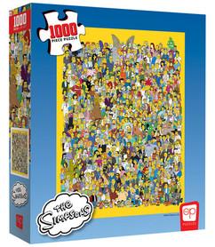 """The Simpsons: """"Cast of Thousands"""" Puzzle (1000pcs)"""