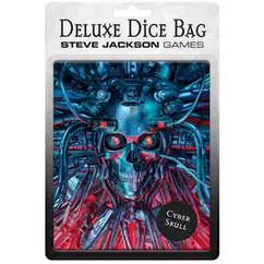 Deluxe Dice Bag: Cyber Skull