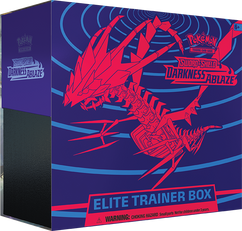 Pokemon: Sword & Shield - Darkness Ablaze Elite Trainer Box