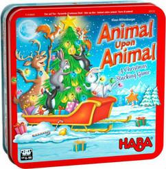 Animal Upon Animal: A Christmas Stacking Game