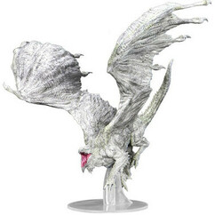 Dungeons & Dragons Miniatures: Icons of the Realms - Adult White Dragon Premium Figurine