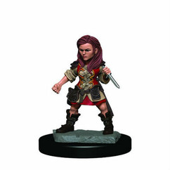 Dungeons & Dragons: Icons of the Realms Premium Miniatures - Female Halfling Rogue