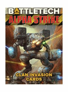 BattleTech: Alpha Strike Game Aids - Clan Invasion Cards