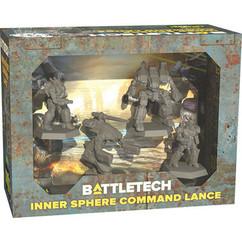 BattleTech: Miniature Force Pack - Inner Sphere Command Lance (PREORDER)