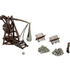 Wizkids Miniatures 4D Settings: War Machines - Trebuchet