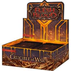 Flesh & Blood TCG: Crucible of War Booster Box (24) (Unlimited Edition) (Bulk Discounts)