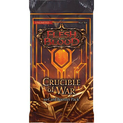 Flesh & Blood TCG: Crucible of War Booster Pack (Unlimited Edition)
