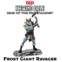 Dungeons & Dragons Miniatures: Icewind Dale - Rime of the Frostmaiden - Frost Giant Ravager (PREORDER)