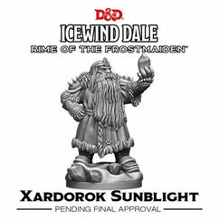 Dungeons & Dragons Miniatures: Icewind Dale - Rime of the Frostmaiden - Xardorok Sunblight
