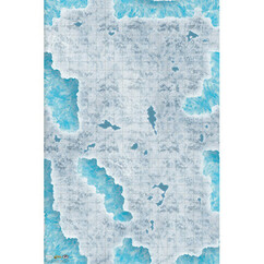 """Caverns of Ice Encounter Map (30"""" x 20"""")"""