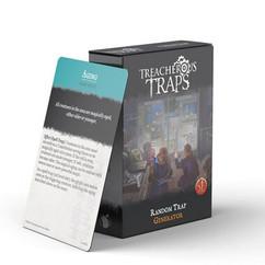 Treacherous Traps RPG (5E): Random Trap Generator Deck