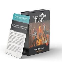 Treacherous Traps RPG (5E): Trap Card Deck - Level 13-16
