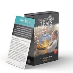 Treacherous Traps RPG (5E): Trap Card Deck - Level 9-12