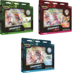 Pokemon: Champion's Path Pin Collection (Turffield, Hulbury, & Motostoke Gyms) (Set of 3)