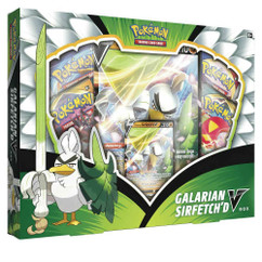 Pokemon: Galarian Sirfetch'd V Box