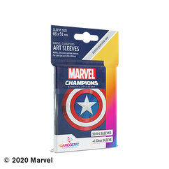 Game Genic Sleeves: Marvel Champions - Captain America