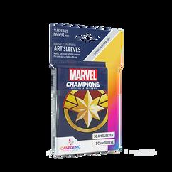 Game Genic Sleeves: Marvel Champions - Captain Marvel